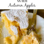 Magic Cake with Autumn Apples – Weekend Potluck 500