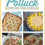 Fresh Peach Cobbler – Weekend Potluck 334