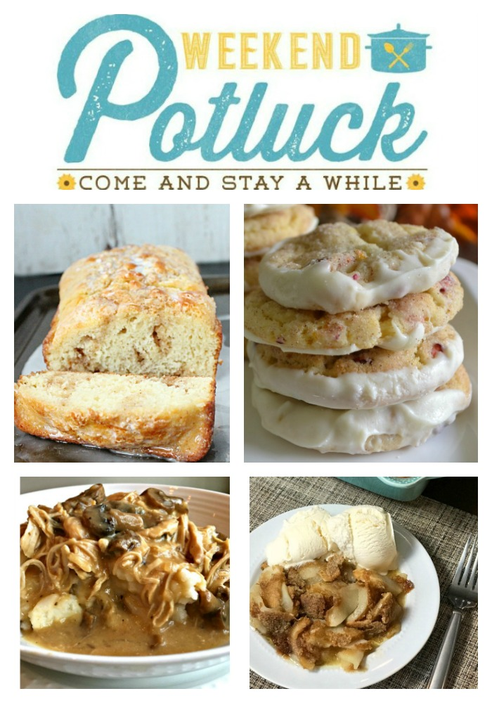 Cinnamon Roll Quick Bread - Weekend Potluck 344