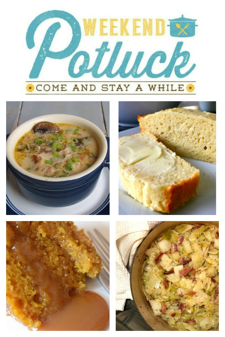 Knock Your Socks Off Crock Pot Soup - Weekend Potluck 349