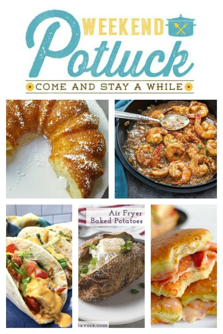 Twinkie Bundt Cake - Weekend Potluck 363