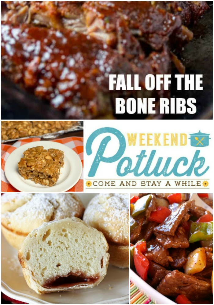 FALL OFF THE BONE RIBS - Weekend Potluck 375