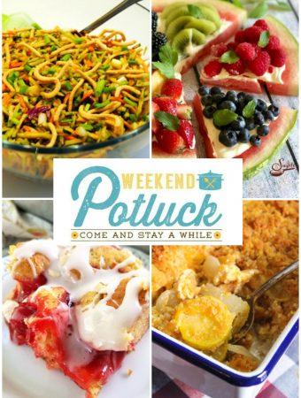 Weekend Potluck 379 - Asian Broccoli Slaw