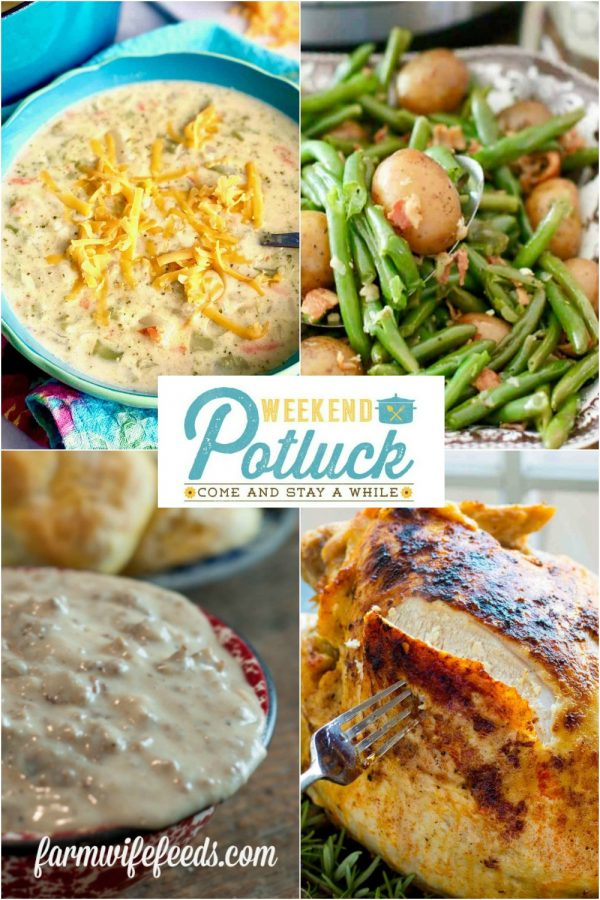 WEEKEND POTLUCK 402 - Sweet Little Bluebird