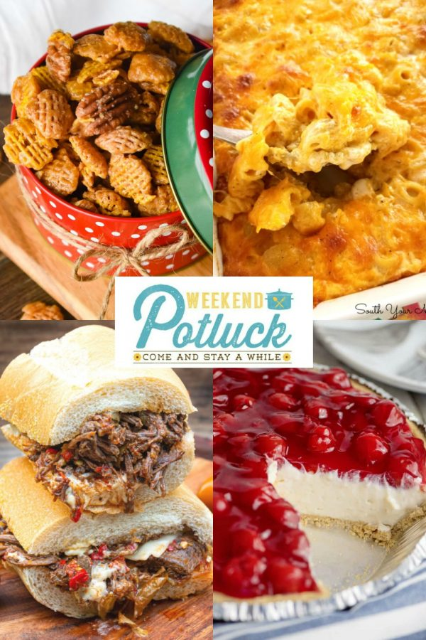 WEEKEND POTLUCK 403 - Sweet Little Bluebird