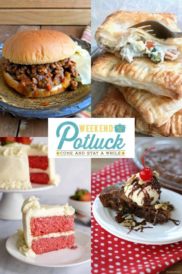 Weekend Potluck 417- Sweet Little Bluebird