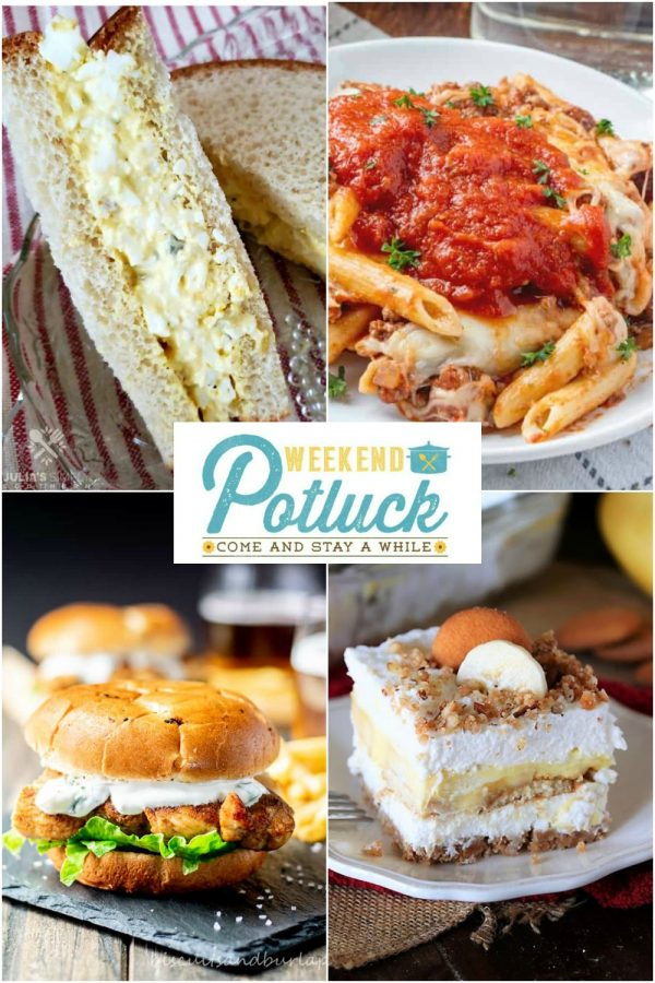 Weekend Potluck 419 - Sweet Little Bluebird