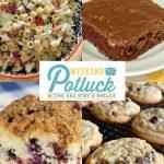Coleslaw Pasta Salad – Weekend Potluck 424
