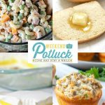 Ham & Cheese Macaroni Salad – Weekend Potluck 426