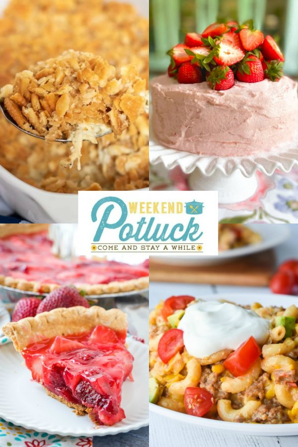 Weekend Potluck 429 - Sweet Little Bluebird