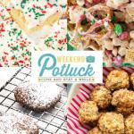 Christmas Sugar Cookie Cake – Weekend Potluck 459