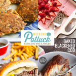 Low-Carb Salmon Patties – Weekend Potluck 467