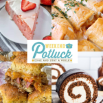 Strawberry Ricotta Cake – Weekend Potluck 475