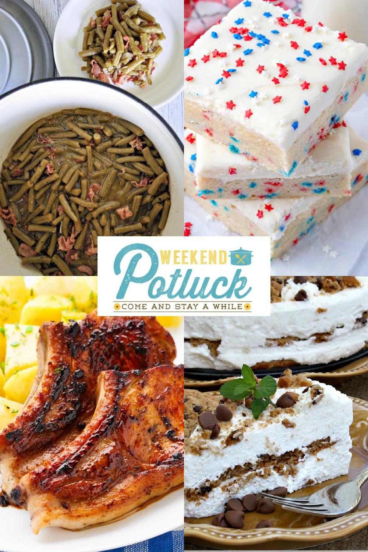 Weekend Potluck 486 - Copycat Texas Roadhouse Green Beans