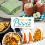 Lime Jello Salad – Weekend Potluck 497