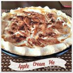 Anastasia's Easy Apple Cream Pie