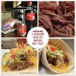 Awesome 3-Ingredient Crock Pot Shredded Beef Tacos