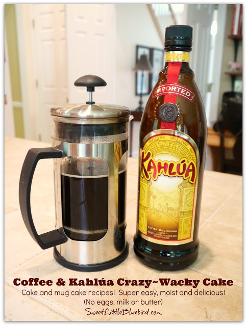 Kahlua Cake With Vinegar Recipe