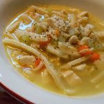 Copycat Bob Evans Chicken & Noodles Soup – Weekend Potluck 244