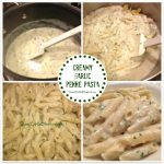 Creamy Garlic Penne Pasta (Easy)