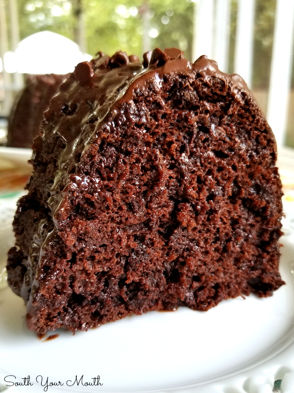 Five Ingredient Chocolate Cake