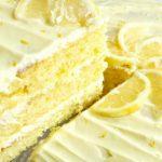 Easy Lemon Lovers Layer Cake – Weekend Potluck 281
