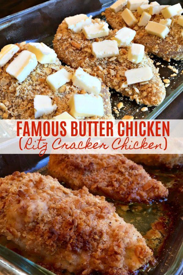 Famous Butter Chicken (aka, Ritz Cracker Chicken) - Sweet Little Bluebird