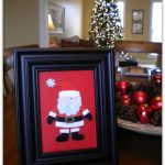 Tried & True  Tuesday ~ Framed  Christmas Decor in Minutes!