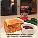 Jalapeño Popper Grilled Cheese  with Raspberry Dipping Sauce – Inspiration Cafe