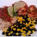 Tried & True Tuesday ~ Slow Cooking ~  Green Chile Salsa Chicken