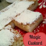 Magic Custard Cake – Weekend Potluck 174
