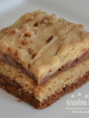 Peanut Butter Chocolate Texas Sheet Cake by Grandma Honey's House