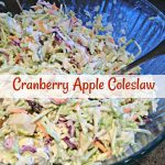 Cranberry Apple Coleslaw