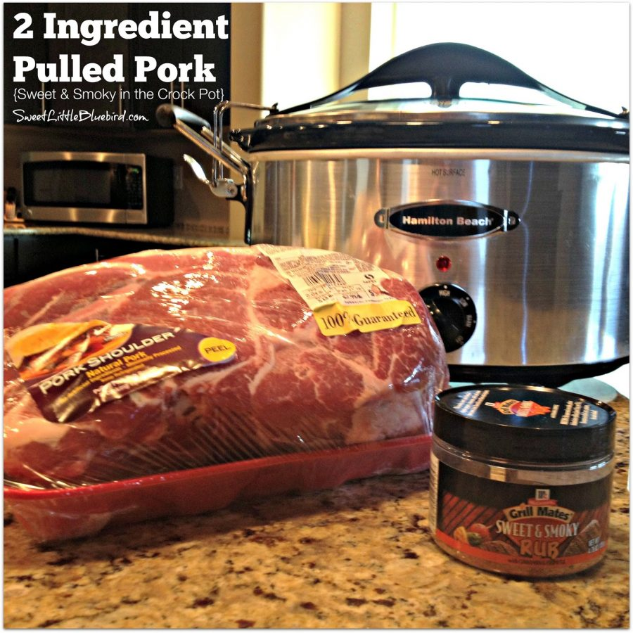 pulled pork crock pot recipe pulled pork sandwiches sweet amp smoky in the crock pot 29244