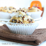 Walnut and Maple Syrup Muffins – Weekend Potluck 187