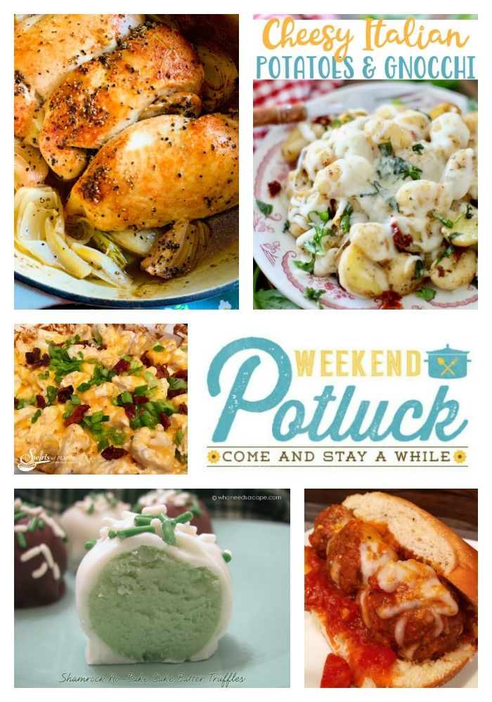 Weekend Potluck - Best Oven Rotisserie Chicken